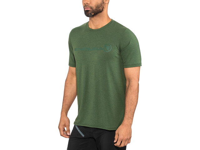 Endura SingleTrack Merino T-Shirt Men forestgreen